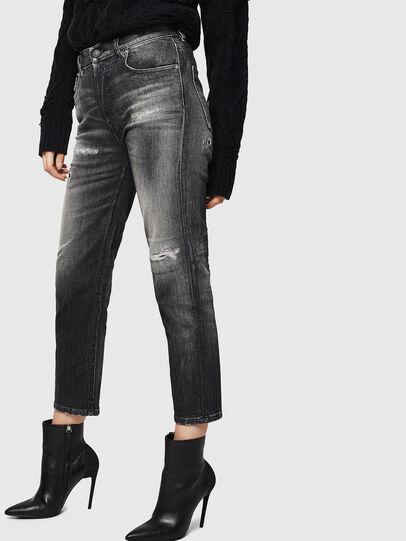 Diesel - Aryel 0095J, Black/Dark grey - Jeans - Image 4