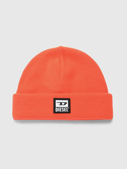 Diesel - K-XAU, Orange - Knit caps - Image 1