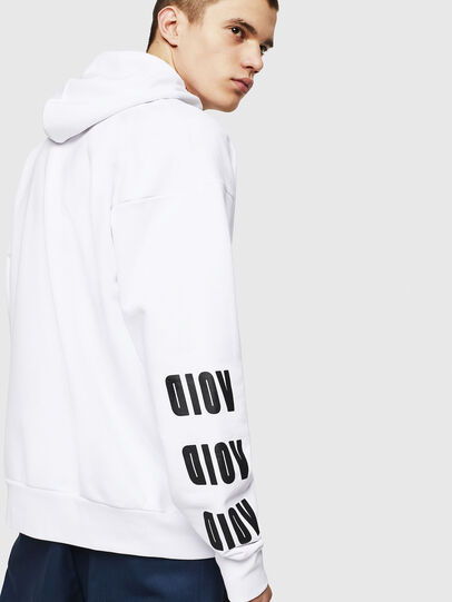 Diesel - S-ALBY-A1, White - Sweaters - Image 4