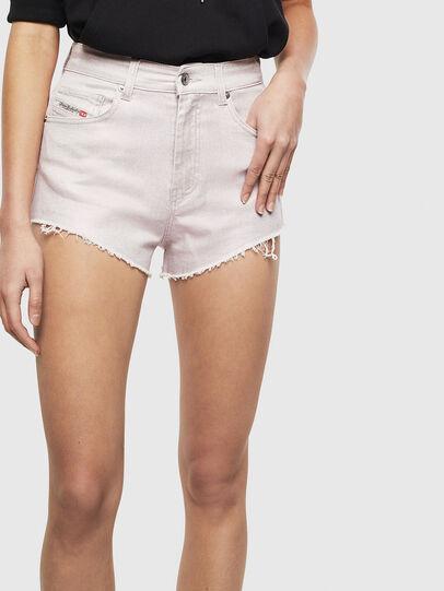 Diesel - DE-HIGWEI, Pink - Shorts - Image 1