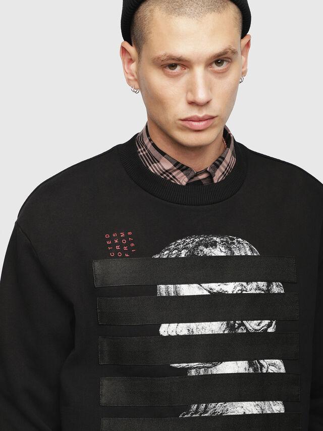 Diesel - S-BAY-YB, Black - Sweaters - Image 3