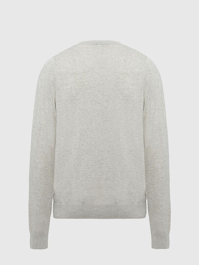 Diesel - K-CROFT-TOMI, Light Grey - Knitwear - Image 2