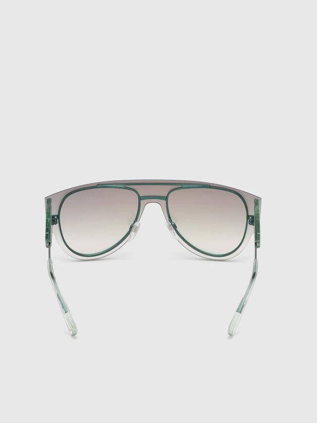Diesel - DL0273, Pink/White - Sunglasses - Image 4