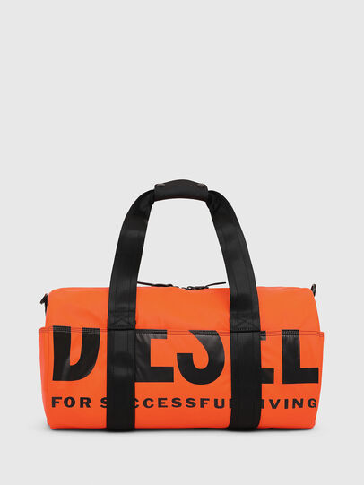 Diesel - F-BOLD DUFFLE, Orange - Travel Bags - Image 1