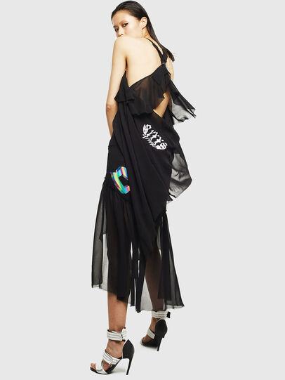 Diesel - D-FREY, Black - Dresses - Image 2