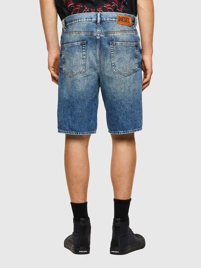 Diesel - D-STRUKT-SHORT, Light Blue - Shorts - Image 2