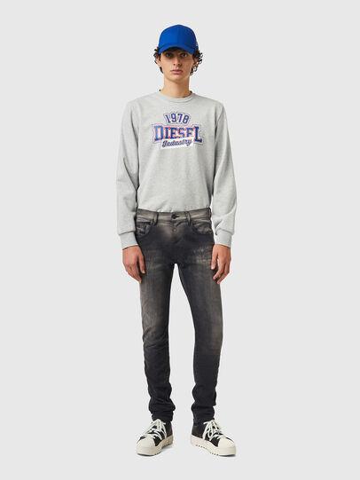 Diesel - D-Strukt JoggJeans® 09B04, Black/Dark grey - Jeans - Image 5