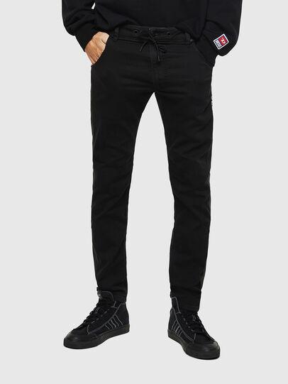 Diesel - Krooley JoggJeans 069JH, Black/Dark grey - Jeans - Image 1
