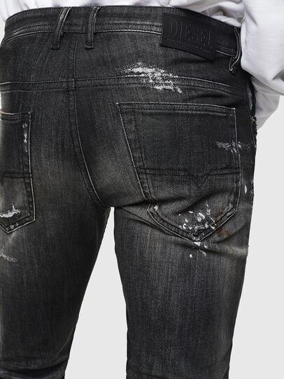 Diesel - Thommer JoggJeans 0098E, Black/Dark grey - Jeans - Image 6