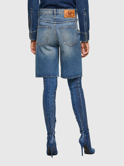 Diesel - DE-REGY-SP, Light Blue - Shorts - Image 2