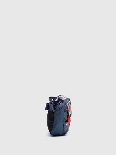 Diesel - LOKI PAT, Blue - Crossbody Bags - Image 5
