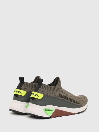 Diesel - S-KB SOCK QB, Olive Green - Sneakers - Image 3