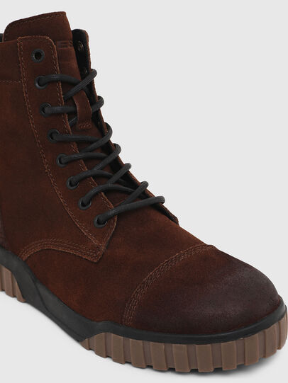 Diesel - H-RUA AM, Brown - Sneakers - Image 6