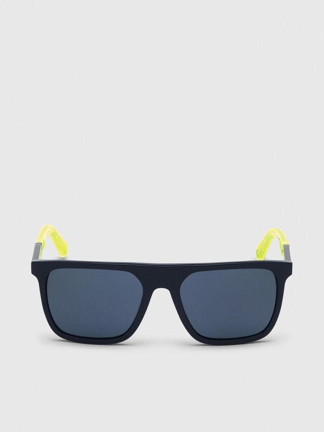 Diesel - DL0299, Blue/Yellow - Sunglasses - Image 1