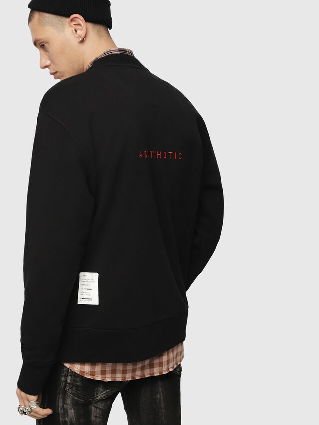 Diesel - S-BAY-YB, Black - Sweaters - Image 2