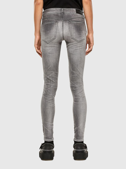 Diesel - Slandy Low 009FD, Light Grey - Jeans - Image 2