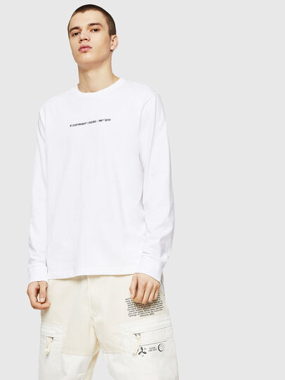 Diesel - T-JUST-LS-COPY,  - T-Shirts - Image 1