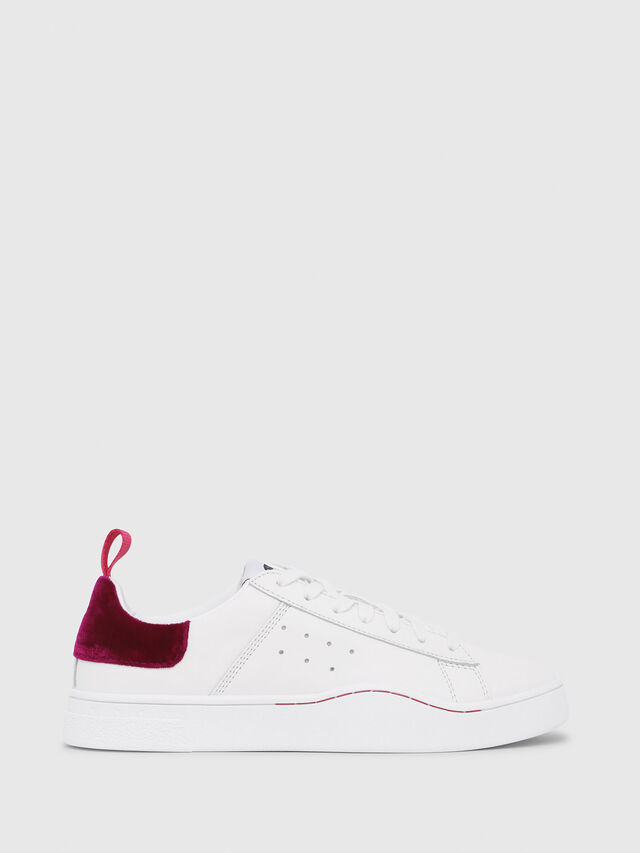 Diesel - S-CLEVER LOW W, White/Red - Sneakers - Image 1