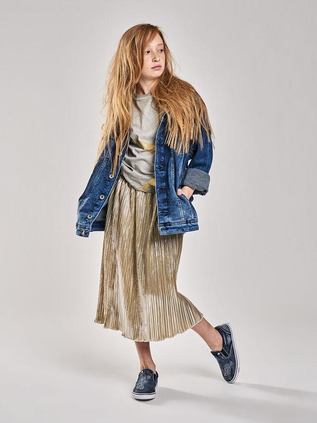 Diesel - GLOBI, Gold - Skirts - Image 1