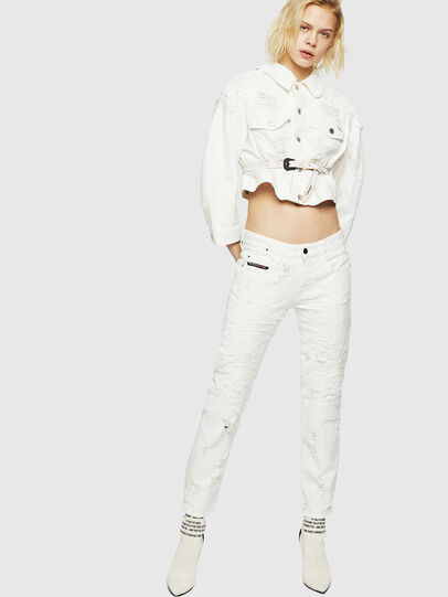 Diesel - D-Rifty 069GY, White - Jeans - Image 7