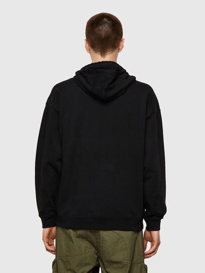 Diesel - S-UMMER-BIGZIP, Black - Sweaters - Image 2