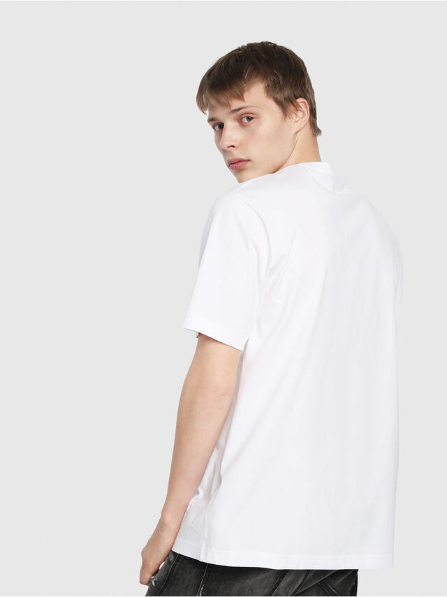 Diesel - T-JUST-Y2, White - T-Shirts - Image 2