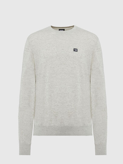 Diesel - K-CROFT-TOMI, Light Grey - Knitwear - Image 1