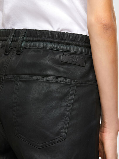 Diesel - Krailey JoggJeans 069QP, Black/Green - Jeans - Image 4