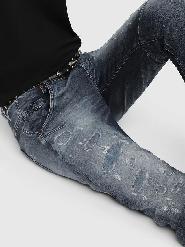 Diesel Fayza JoggJeans 069CC, Medium blue - Jeans - Image 3