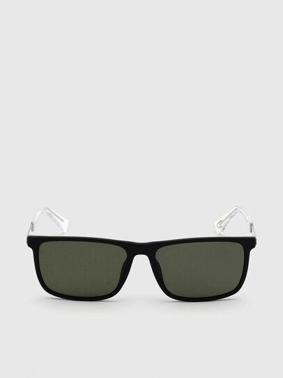 Diesel - DL0312, Black - Sunglasses - Image 1