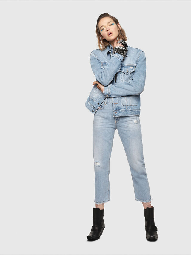 Diesel - Aryel 080AF, Light Blue - Jeans - Image 4