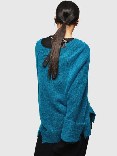 Diesel - M-MARIKAX, Blue Marine - Knitwear - Image 2