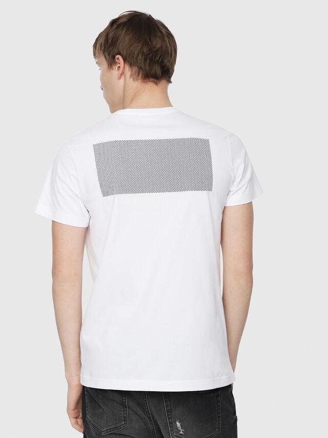 Diesel - T-DIEGO-Y1, White - T-Shirts - Image 2