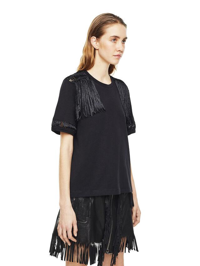 Diesel - TREENA, Black - T-Shirts - Image 3