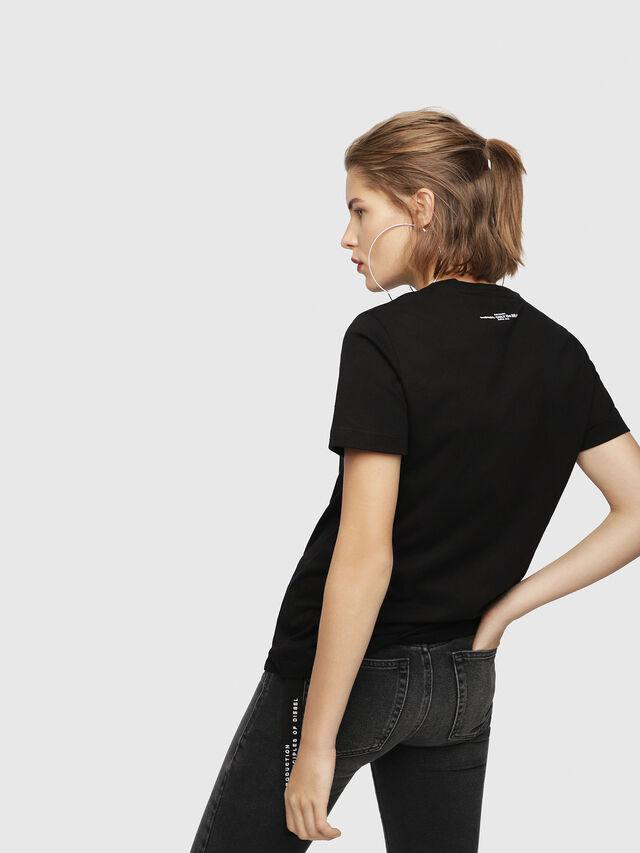 Diesel - T-FLAVIA-Y, Black - T-Shirts - Image 2