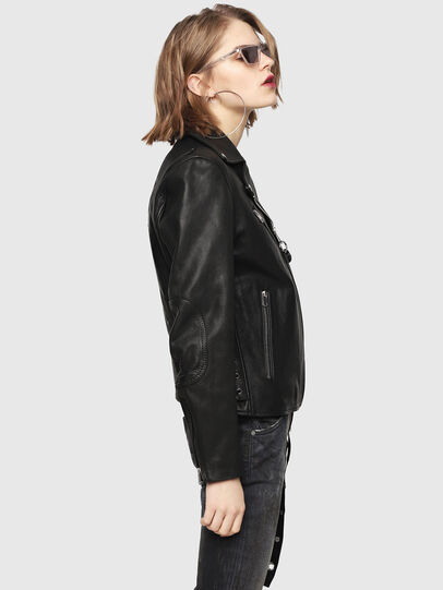 Diesel - CL-L-GOLY,  - Leather jackets - Image 4