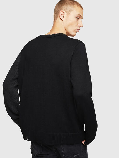 Diesel - K-HALF, Black - Knitwear - Image 2