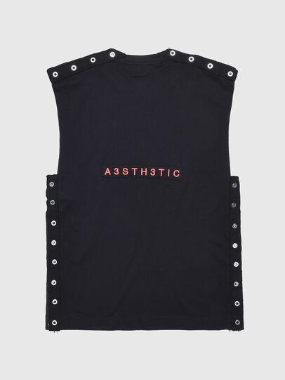 Diesel - TDESY, Black - T-shirts and Tops - Image 2