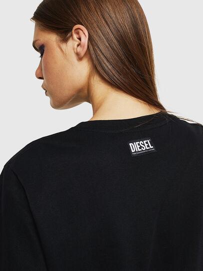 Diesel - T-DARIA-K, Black - T-Shirts - Image 3