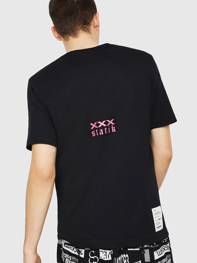 Diesel - T-JUST-Y23, Black - T-Shirts - Image 2