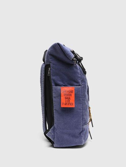 Diesel - FOLD, Blue - Backpacks - Image 3