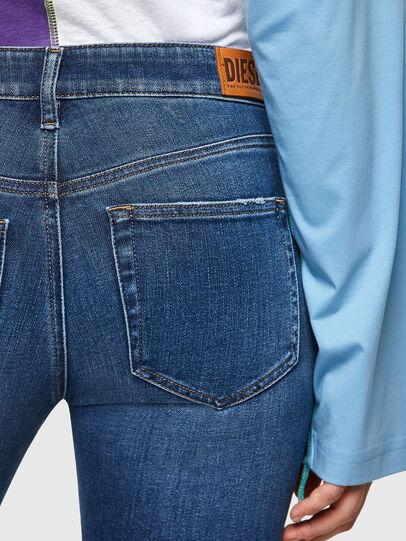 Diesel - Slandy 009PU, Medium blue - Jeans - Image 4