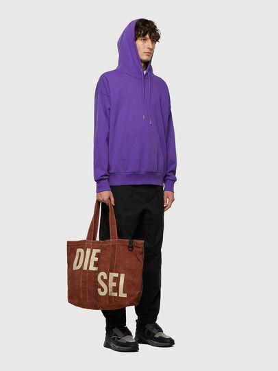 Diesel - GRANYTO SHOPPER M, Orange - Shopping and Shoulder Bags - Image 6