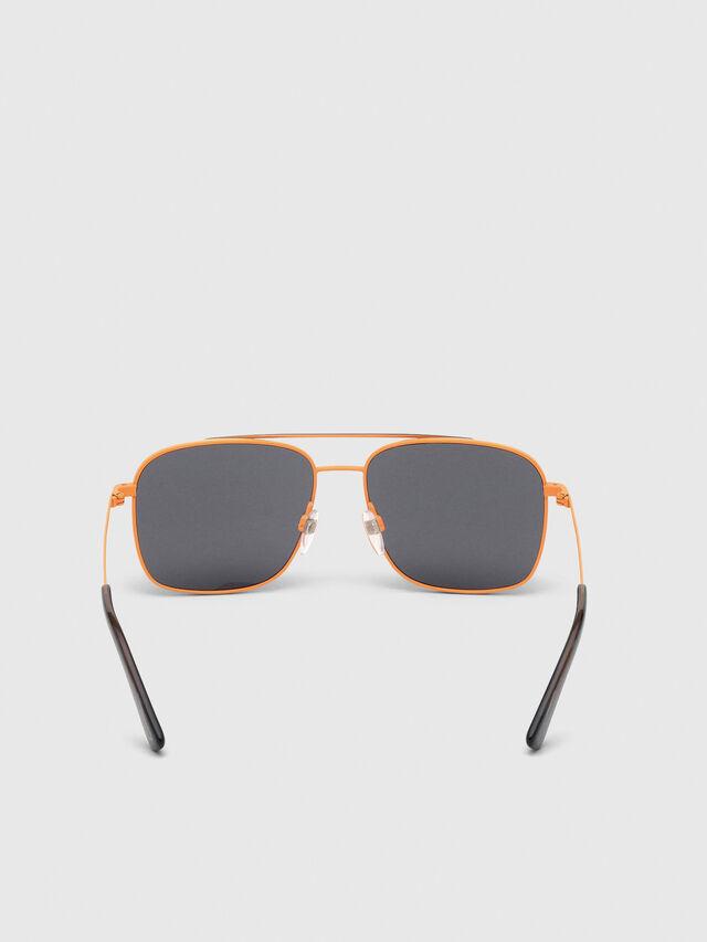 Diesel - DL0295, Orange/Black - Sunglasses - Image 4