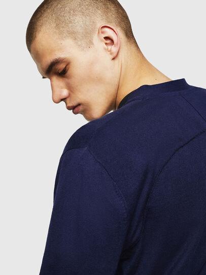 Diesel - K-MILOK, Blue - Knitwear - Image 3