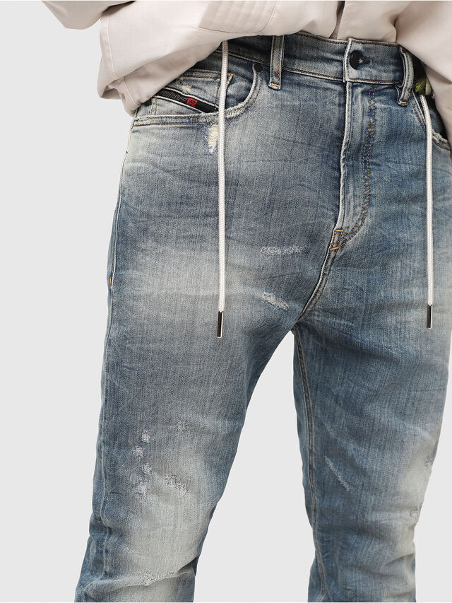 Diesel - D-Vider JoggJeans 087AD, Medium blue - Jeans - Image 3