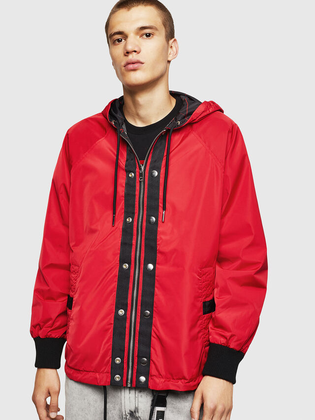 Diesel - LCP-AKI-CASA, Red - Jackets - Image 1