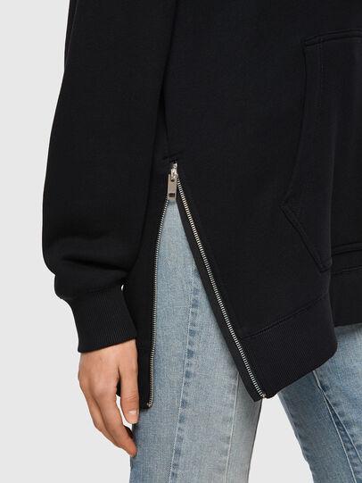 Diesel - F-GULLY-HOOD, Black - Sweaters - Image 3