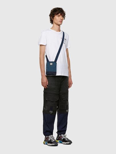 Diesel - VYGA, Blue - Crossbody Bags - Image 7