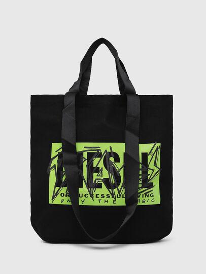 Diesel - LYVENZA, Black/Green - Shopping and Shoulder Bags - Image 5